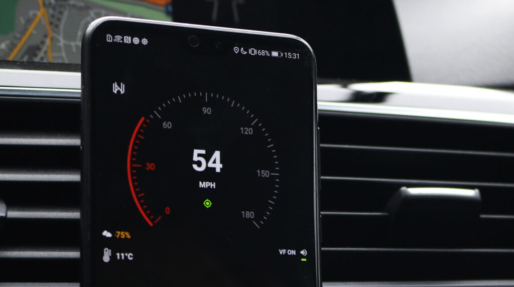 Velocity GPS Dashboard 3.3.+ on the Road
