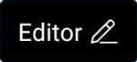 Editor menu button, Wayfarer GPX 2.+ for Android